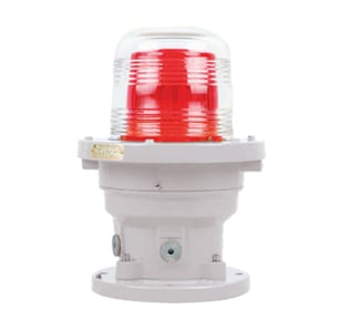 Caution Local Visual BSZD81-C Series Red LED