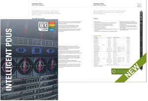 Intelligent PDUs (iPDUs) Brochure
