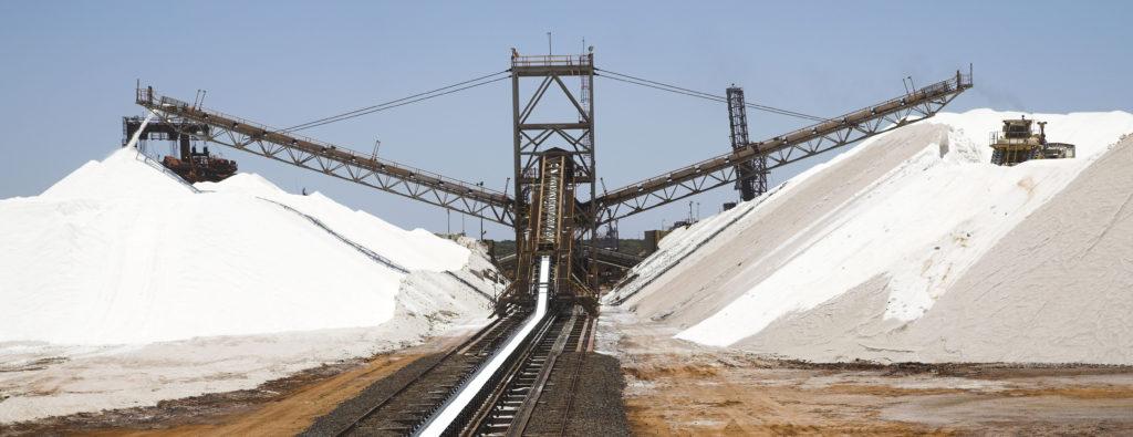 Dampier Salt mounds