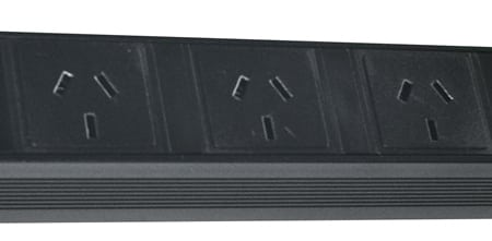 Ausrack Power Rail SAA Outlet