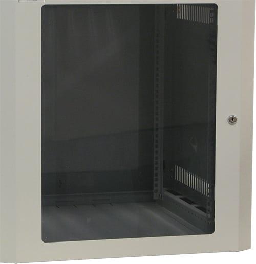 Acrylic front door for maximum viewing of equipment