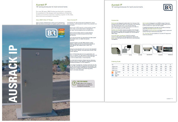 B&R Enclosures Ausrack IP Brochure