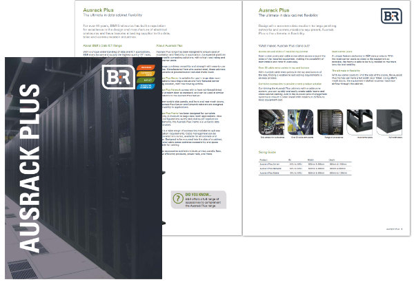 B&R Enclosures Ausrack Plus Brochure