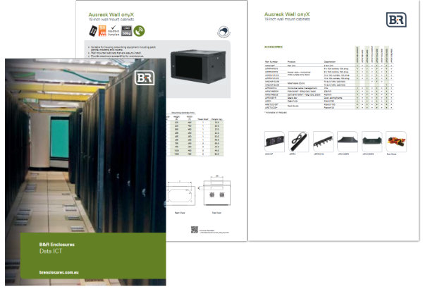 B&R Enclosures Data ICT Catalogue