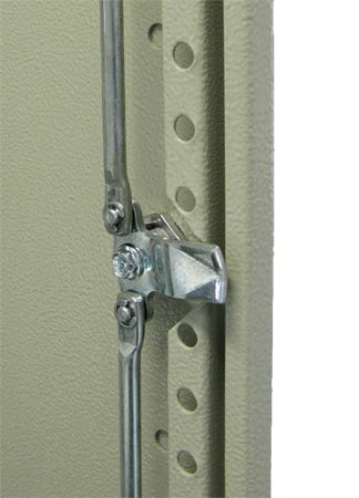 Robust 3-point locking system