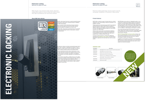 Electronic Locking brochure