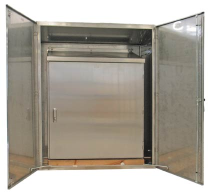 Enclosures and Sunshield