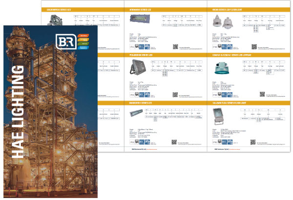 B&R Enclosures Hazardous Area Lightning Brochure