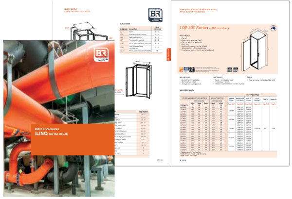 B&R Enclosures iLINQ Catalogue