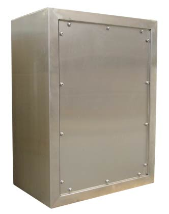 Enclosure Removable Back
