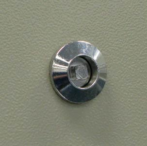 Square turnbuckle lock