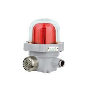 LED Caution Light with siren