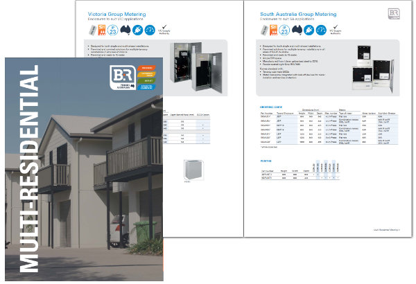 B&R Enclosures Multi Residential Metering Enclosures Brochure