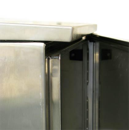 Specially designed gutter system.