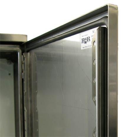 Door rails come standard in the Universal NI enclosures.