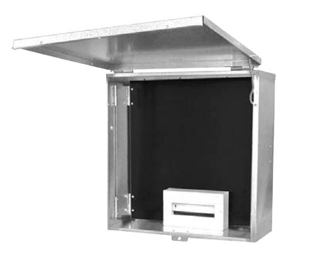 NSW Series Meter Box - Door Open