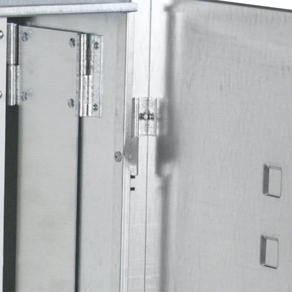 Concealed lift off hinges