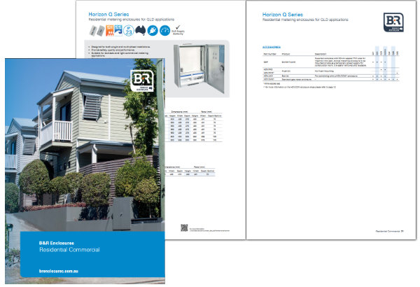 B&R Enclosures Residential Commercial Catalogue