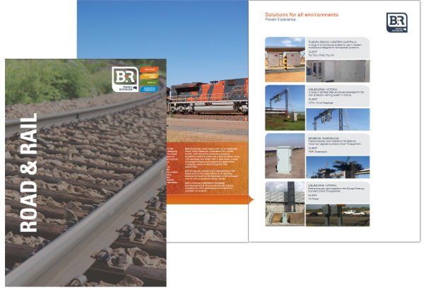 B&R Enclosures Road and Rail Brochure