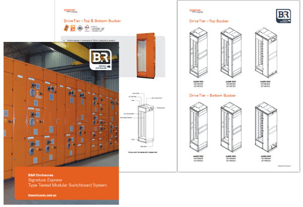 B&R Enclosures Signature Express Catalogue