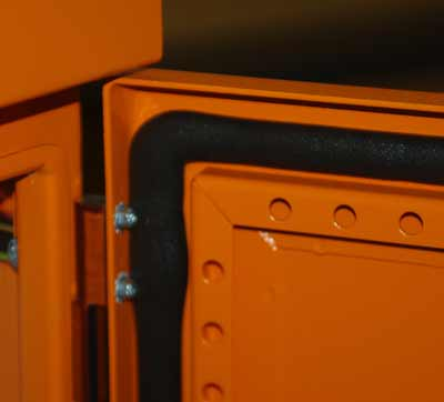 FIP gasket and door rails