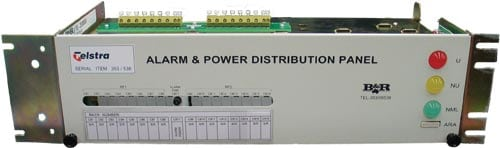 Alarm and Power Distribution Panel