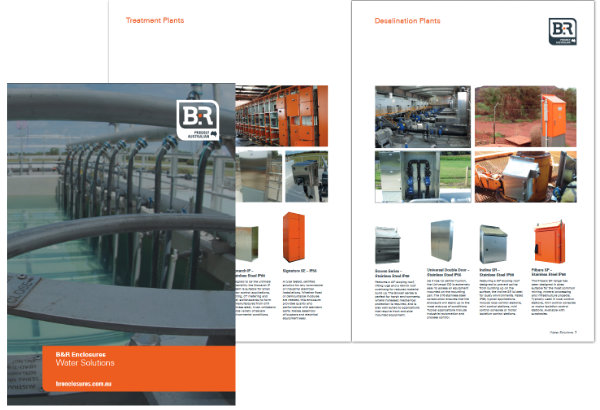 B&R Enclosures Water Brochure